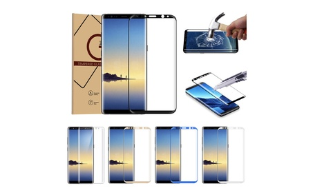 Full Coverage Curved Tempered Glass for Samsung Galaxy Note 8 55c5fc12-32e9-49b1-9557-ee23f767a6c5