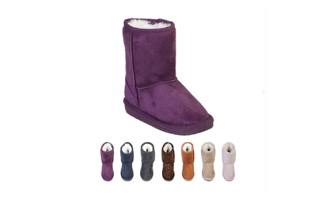 Toddler Microfiber Boots e951d28a-a053-4f99-aaf1-401e0d1d657b