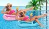 Inflatable Seashell Pool Float