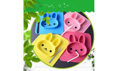 Bunny silicone plate food grade 241f048a-f0f3-4820-9e8d-01c978321411