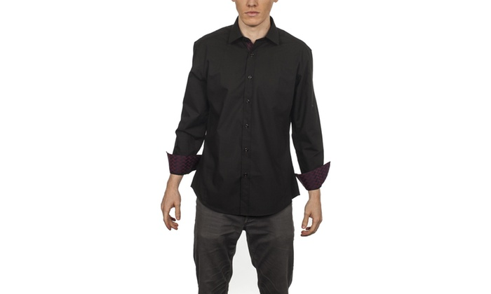 Warriors & Scholars Casual Slim Fit Button Down Shirts