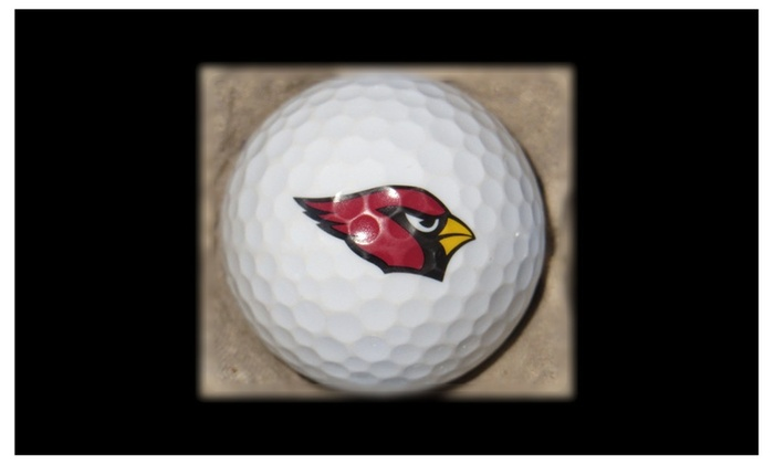 Recycled Titleist Pro V1 Arizona Cardinals Mint Golf Balls (36-Pack)