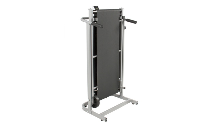 Portable Manual Folding Treadmill Running Walking Fitness Machine Incline Cardio