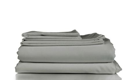 Queen Size Luxury Comfort 4-Piece Sheet Set 1800 Series Bedding Super Soft Feel