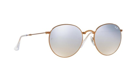 Ray-Ban Round Metal Folding Sunglasses - RB3532-198/9U-53 d356a927-6fa3-4fa8-aac0-1d7b3224bcc0