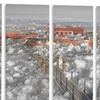 When the Cloud Descends - Digital Art Metal Wall Art