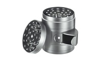 Deals on FlyHigh 5-Piece Titanium Herb Grinder with Easy-Access Window