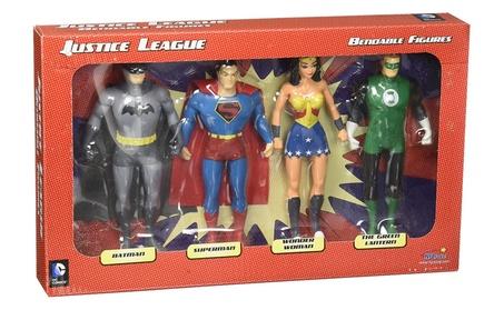 Justice League Bendable Boxed Set - NJ Croce 689f62ad-98a3-426e-879d-4037a0d4994c
