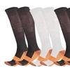 Marvelous Copper Assorted Unisex 3-Pack Compression Socks