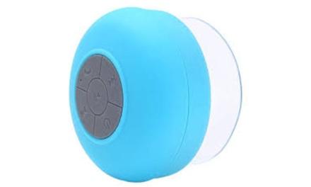 Bluetooth Waterproof Shower Speaker - Green, Pink, White, Yellow, Black or Blue