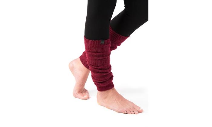 0d7817378 Marino Long Leg Warmers For Women - Winter Knee High Knit Leg Warmer Socks