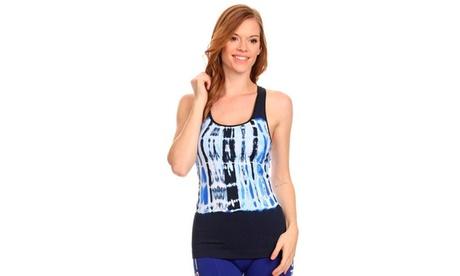Lady'S Seamless Tie Dye Top 3046f146-893f-4d13-b1b8-84e170319efc