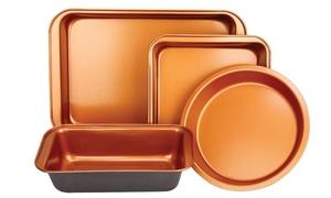 Copper Bakeware Set (4-Piece)