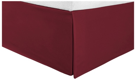 Superior Infinity Brushed Microfiber Solid Bed Skirt 5ef57180-6adc-409f-84d5-fecd983843cb