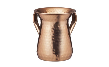 Netila 26933 Hammered Copper Plated Washing Cup 5.5 in. 082ff895-3cf2-43b5-9616-bd22c6703870