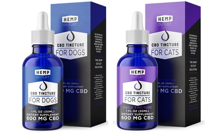 CBD Oil Tincture for Dogs and Cats by Hemp Outlet