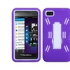 Insten White/purple Symbiosis Stand Case For Blackberry: Z10