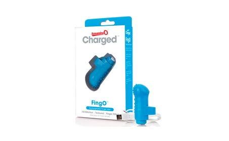 ScreamingO Charged FingO 10-Function Rechargeable Textured Finger Vibe d7633bf6-0885-4521-8b80-df00c0db69e0