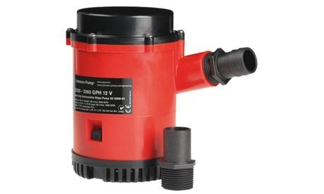 JOHNSON PUMPS 22084 HD Bilge Pump, 2200GPH, 24V, No Switch photo