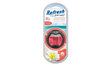Refresh Scented Oil Interior Car Diffuser (4-Pack)