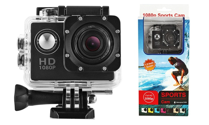 sj4000 mini sport camera 1 5 lcd 1080p fhd 12mp 140 wide angle groupon. Black Bedroom Furniture Sets. Home Design Ideas