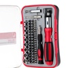 65 Piece Ratcheting Screwdriver Set With Case
