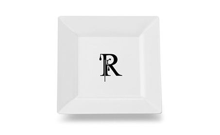 Carolines Treasures CJ1056-RSP115 Letter R Monogram Modern Plate photo