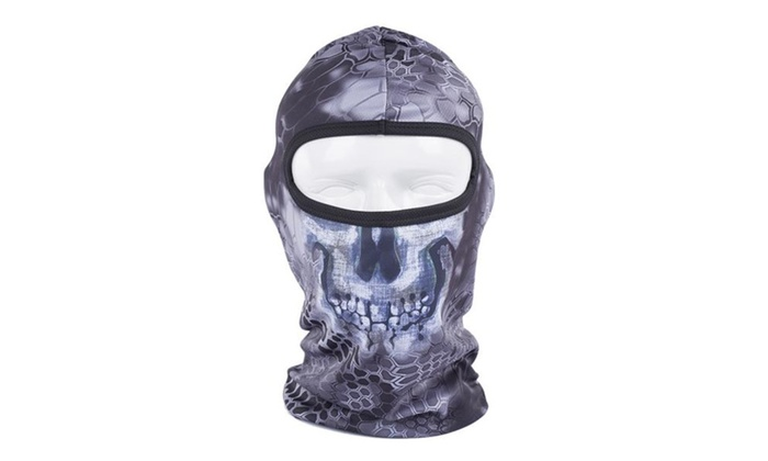 Cycling Sports Face Mask Cool Fashionable Ultra Thin Balaclava Leopard