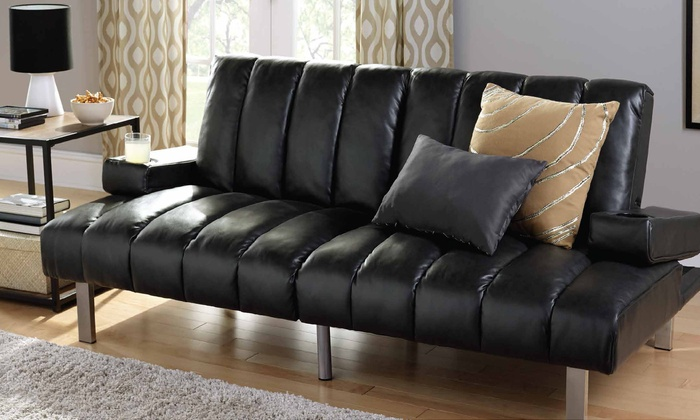 Off On Mainstays Theater Futon With