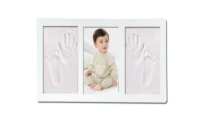 Baby Handprint Kit Little Hippo - Baby Picture Frame | Groupon