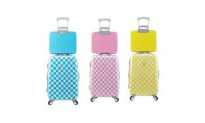 Travelers Club Paris Fashion 2PC Spinner Expandable Hardside Luggage Set