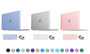 """Macbook Pro 13"""" or 15"""" Hard Case Shell, Keyboard Cover, & USB Adapter"""