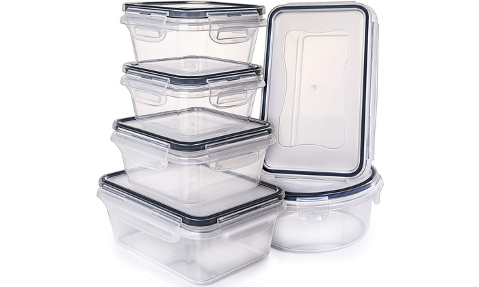 Up To 16 Off On Airtight Food Storage Contain Groupon Goods