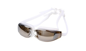 Adjustable Anti Fog Swimming Goggles with Carrying Case (3-Colors)