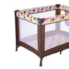 Baby Playard Crib Bassinet Travel Portable Bed Foldable Infant Toddler