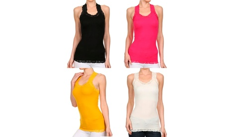 A Set of 2 Racer Back Tank Top For Active Lifestyle fbf30c28-2239-4a0d-9d48-6f20565cd275