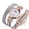 Crystal Bracelet Quartz Simple Design Wrist Watch for Women