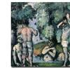 Paul Cezanne 'The Five Bathers' Canvas Art