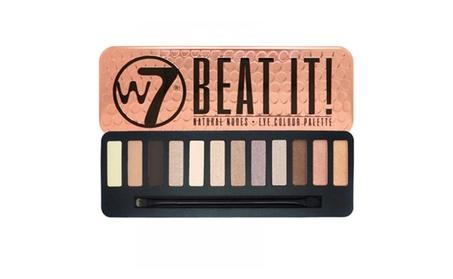 W7 Beat It! Natural Nudes Eye Colour Palette 0.55oz / 15.6g de74f00a-4b17-48f8-a44a-98e0e68474b3