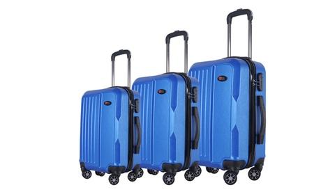 Brio Fashion Hardside Spinner Luggage Set (3-Piece) 1039747d-ec3d-4361-8350-5c4c75ccb994