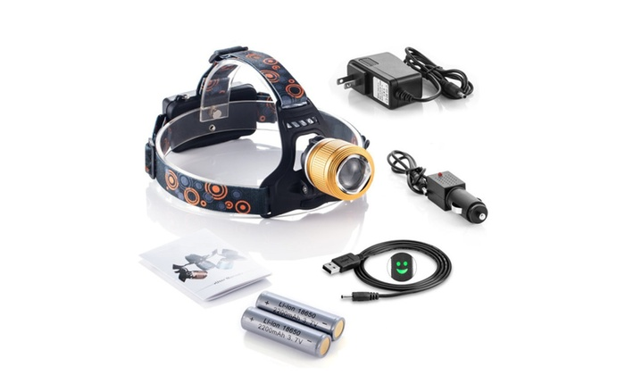 3 Modes Zoomable LED Headlamp