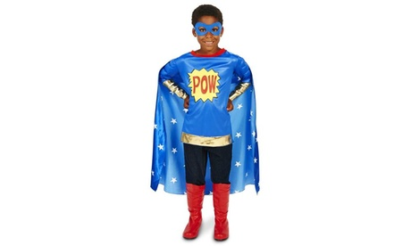 Pop Art Comic Super Hero POW Boy Child Costume 57728d37-2b0c-440a-9135-ced85b811211