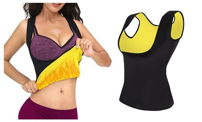 image for Slimming Body Shaper For Women Waist Trainer Cincher <strong>Sauna</strong> Yoga Vest