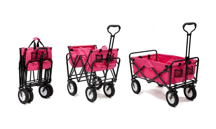 Mac Sports Folding Utility Wagon In Choice Of Colors