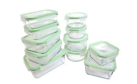 Kinetic Oven Safe Glass Food Storage Container Set With Lid, 22-Piece d997d662-101f-4f1a-a926-24fe0ff67ad9