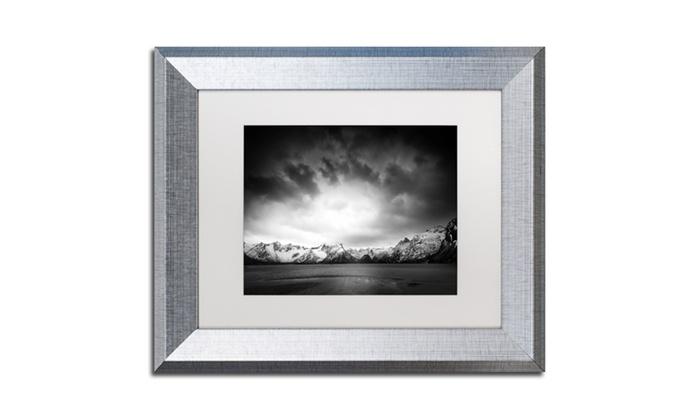 Philippe Sainte-Laudy \'Never Enough\' Silver Framed Art | Groupon