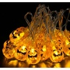 20LED Solar Powered  Multi-Shape Outdoor String Lights