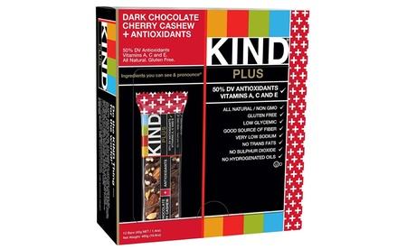 Dark Chocolate Cherry Cashew plus Antioxidants, Gluten Free, 1.4oz, 12 Ct