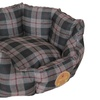 Wick-Away Nano-Silver Anti-Bacterial Water Resist Rounded Dog Bed