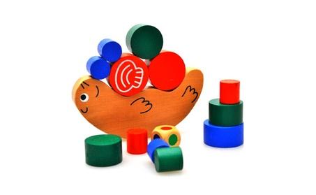 Wooden Children Educational Toy Cute Snail Balance Building Blocks a7d960ea-0484-4326-aa95-14a5e3cba836